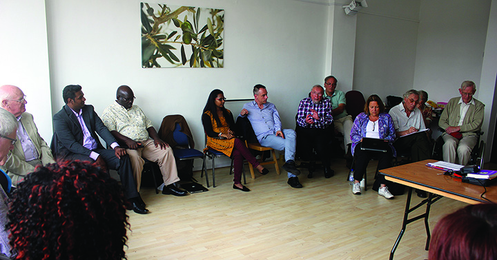 WSCF Staff and Officers Strategic Workshop with Senior Friends in Birmingham UK August 2015
